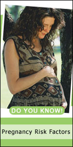 Pregnancy is the period from conception to birth. A pregnancy may be complicated by health problems or lifestyle issues known as risk factors. These risk factors can affect the mother or fetus, or both